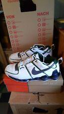NEUwertige Nike SHOX ELITE in Weiß-Grau-Grün Gr. 12,5/47/30,5 cm tn max air