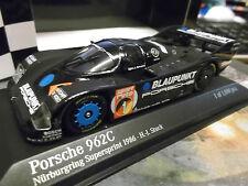 Porsche 962 C (956 II) C Norisring wsc 1986 stuc Blaupunkt Minichamps 1:43