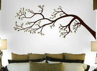 Tree Branch Wall Decal Art Sticker Mural - Leaning to the Left