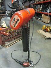 New Listingcm Lodestar Electric Chain Hoist Model R 2 Ton 440 480v 3ph 60hz Used