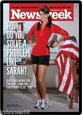 Newsweek Sarah Palin Refrigerator Magnet