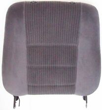 Vauxhall Opel Omega Front Seat Back Section Grey Cloth Left Side