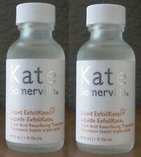 (2) Kate Somerville Liquid ExfoliKate ~ 1oz/30ml Each! Triple Acid Resurfacing