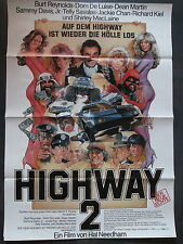 HIGHWAY 2 - Filmplakat A1 - Burt Reynolds, Dean Martin, Sammy Davis jr.