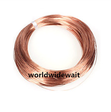 2mm Dia Pure Copper Wire For Industrial Electrical Cord Thread 5M Length