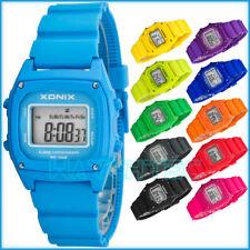 Digital XONIX sports watch - women's and children's, stopwatch, waterproof