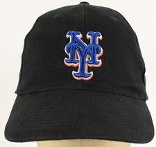 NY New York Giants Black Baseball Hat Cap with Cloth Strap Adjust