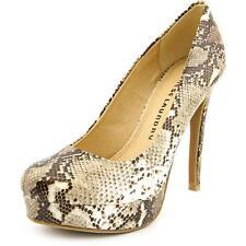 Chinese Laundry Wonder Python Beige Womens Shoes Size 9 M HEELS