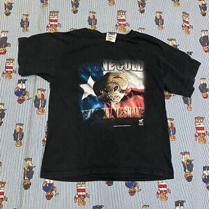 VTG 90s Stone Cold Steve Austin Texas Rattlesnake T-Shirt YOUTH LARGE 14-16 WWF