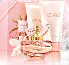 Avon Cherish Geschenkset Eau de Toilette Spray 50ml, Duschgel&Körperlotion 150ml