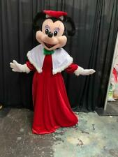 Christmas Minnie Mouse Character Mascot Costume Cosplay Party Event Adult