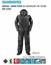 SHIMANO NEXUS GORE-TEX Cold Weather Fishing Suits EX RB-119R BLACK Japan EMS
