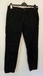 Levi's Men's Chino Trouser Black W32 L30 Cotton Blend