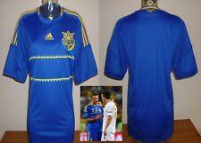 Ukraine away football shirt Euro 2012 Shevchenko D.Kiev  футбольна футболка