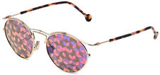 Dior Origins 1 Vintage Round Sunglasses w/ Kaleidoscope Mirror Lens 006J - Italy