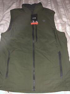 NWT Mountain Hardwear Kor Strata Vest Green Men's Large $150 L NEW