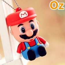 Mario USB Stick, 32GB 3D Cartoon Quality USB Flash Drives WeirdLand