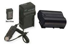 EN-EL15 Battery + Charger for Nikon D600 D800 D800E D7000 D7200 DSLR 1 V1