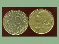 FRANCE  FRANCIA  10 centimes 1991 marianne  ( bis )