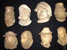 Collectibles characters comics faces figurs profiles art stone sculptures figure