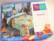 New Disney Winnie-the-Pooh Bear & Pals Tigger Dragonfly Twin Bed Skirt Bedskirt