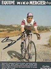 ANDRE MOLLET cyclisme ciclismo cp signée MIKO MERCIER