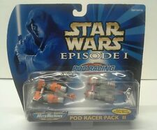 Star Wars Micro Machines Episode I Pod Racing Pack II - SEBULBA & Clegg Holdfast