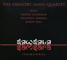 Samsara * by THE GREGORY JAMES QUARTET brand new CD (Mar-2008, Rogue)