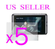 5x Sony CyberShot DSC-TX10 Clear LCD Screen Protector Cover Guard Film