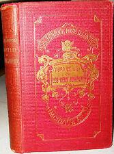 POPO ET LILI - HISTOIRE DE DEUX JUMEAUX Mme. La Marquise de Moussac 1891 French