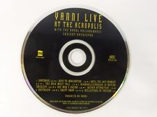 Yanni   Live at the Acropolis  Private Music (CD 1994)