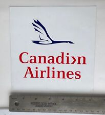 Vintage Canadian Airlines Canadian Goose Decal