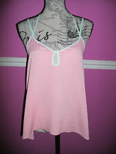 BNWT NEW JANE NORMAN PINK MINT CAMI VEST PARTY TOP 8 look RRP £20