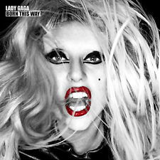 Lady Gaga BORN THIS WAY 2nd Album 180g GATEFOLD New Sealed Vinyl Record 2 LP