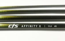 """Cts 11'0"""" 3 Weight Affinity 'X' Fast Action Fly Blank Dark Golden Olive 'New'"""