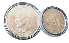 CAPSULE PROTEGGI MONETE PER 1,00 EURO DIAMETRO 23 MM. CONFEZIONE 10 PZ.