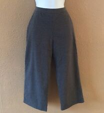 Women's L.L. Bean Crop Stretch Pant Small 27 X 20 Casual Athletic Mid Rise