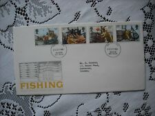 GB  POST OFFICE 1981 FIRST DAY COVER - FISHING- (NON ADDRESSED ENVELOPE)