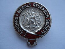 C1960S VINTAGE ORDERS & MEDALS RESEARCH SOCIETY ENAMEL PIN BADGE