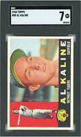 Al Kaline Detroit Tigers 1960 Topps #50 SGC 7 Card Topps