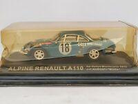 1/43 RENAULT ALPINE A110 MONTECARLO 1973 ANDRUET BICHE COCHE ESCALA DIECAST