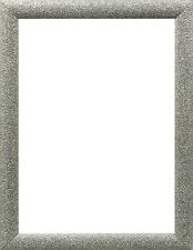 Silver Dazzle Stardust Sparkle Glitter Picture Frame Photo Frame A1 A2 A3 A4