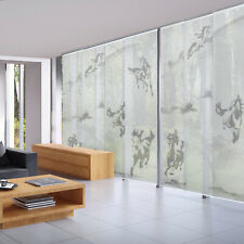 Horse Panel Track Shade Patio Door Panel Curtain Room Divider Partition