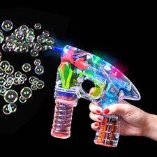 German Trendseller® - LED Seifenblasen Pistole