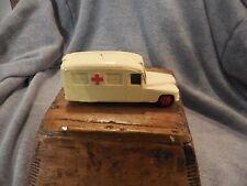 "Vintage Dinky 253 Daimler Ambulance Shows Wear 3 3/4"""