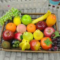 Qu_ Fake Fruit Artificial Simulation Lifelike Photography Prop Table Home Decor