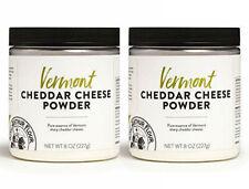 (2 Jars) King Arthur Flour Vermont Cheddar Cheese Powder 8oz-Each Exp 1/2021