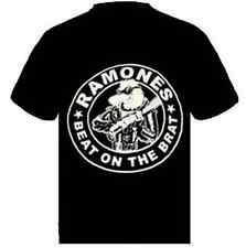RAMONES BEAT ON THE BRAT Music punk rock t-shirt  S-M-L- XL -XXL NEW