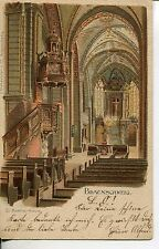 Frankierte Ansichtskarten aus Niedersachsen vor 1914 mit dem Thema Dom & Kirche