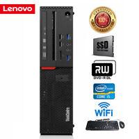 Lenovo ThinkCentre M800 SFF Desktop Intel 4-core i5-6500 16GB 512 SSD Win10 Pro